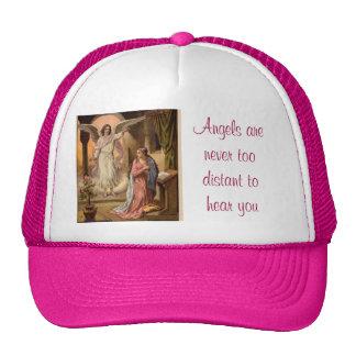 casquette de message d'ange