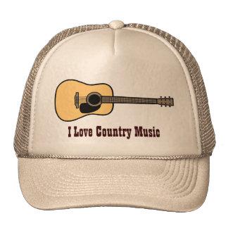 Casquette de musique country