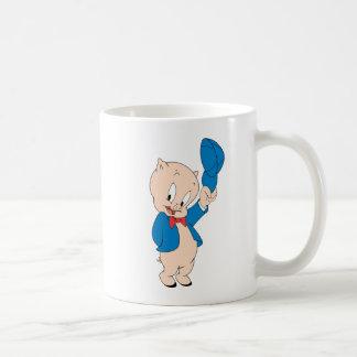 Casquette de ondulation gros du porc   mug