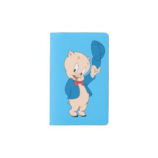 Casquette de ondulation gros du porc | protège-carnet de poche