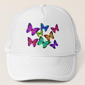 Casquette de papillons