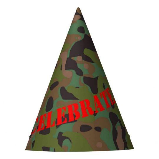 Casquette de partie de camouflage de GI de Joe de Chapeaux De Fètes