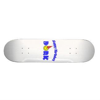 Casquette de partie de Dork de joyeux anniversaire Skateoard Personnalisé