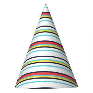 Casquette de partie de rayure de carnaval chapeaux de fètes