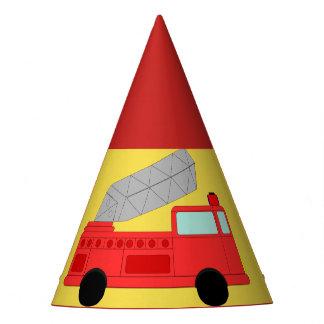 Casquette de partie de sapeur-pompier chapeaux de fètes