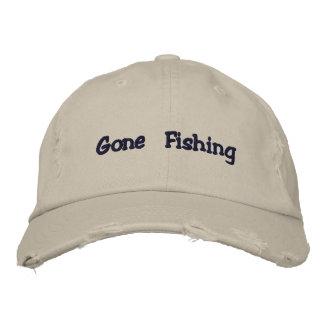 Casquette de pêche allé