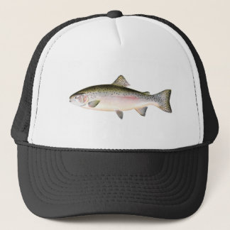 Casquette de pêche - poisson de truite arc-en-ciel