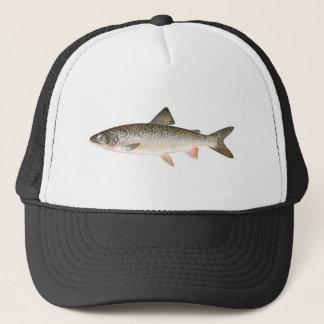 Casquette de pêche - poisson de truite grise