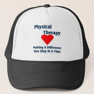Casquette de physiothérapeute