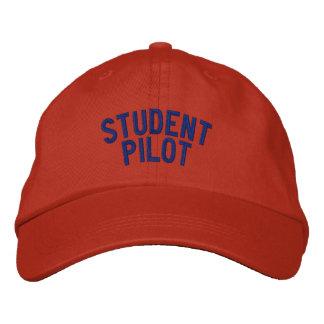 Casquette de pilote d'étudiant casquette brodée