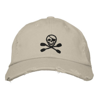 Casquette de pirate de palette de kayak casquette brodée