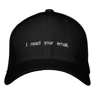 Casquette de pirate informatique - j'ai lu votre
