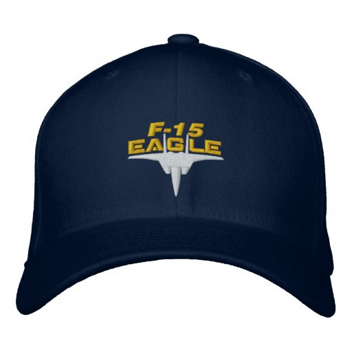 Casquette de pointe de golf de F-15 Eagle