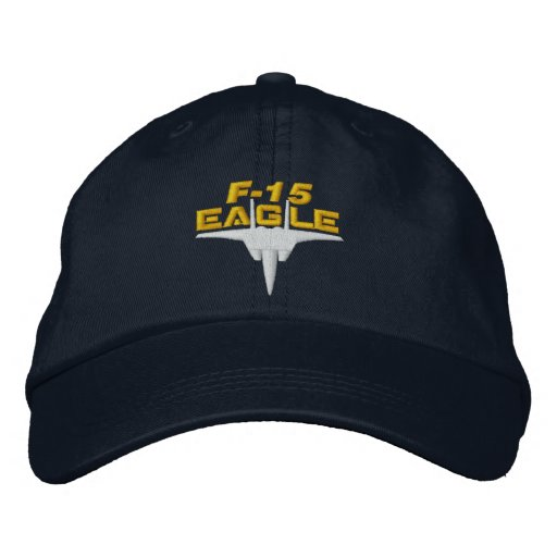Casquette de pointe de golf de F-15 Eagle