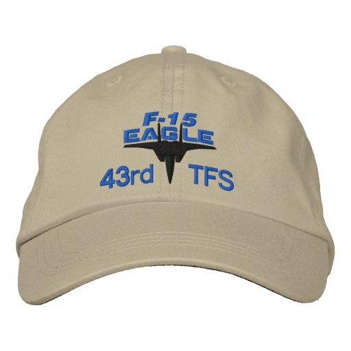 Casquette de pointe de golf de F-15 Eagle Casquette Brodée