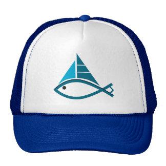 casquette de poissons de voile