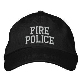 casquette de police du feu