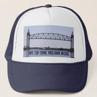 Casquette de pont en chemin de fer de canal de