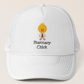Casquette de poussin de pharmacie