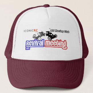 Casquette de renaissance d'IconicRC - rouge foncé