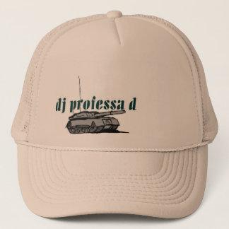 casquette de réservoir du professa d du DJ