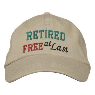 Casquette de retraite par SRF - libérez enfin !