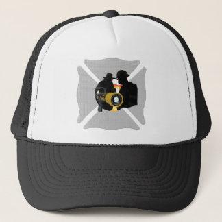 Casquette de sapeur-pompier