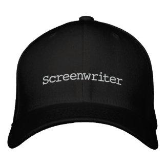 Casquette de scénariste casquette brodée