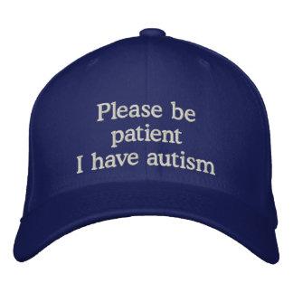 Casquette de sensibilisation sur l'autisme casquette brodée