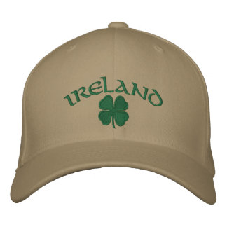 Casquette de shamrock de l'Irlande