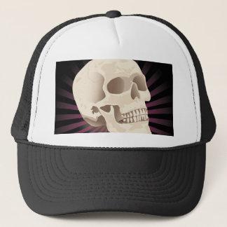 casquette de sourire de crâne