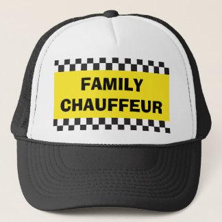 Casquette de taxi de chauffeur de famille