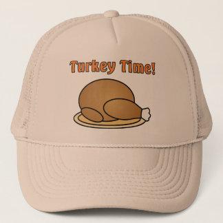 Casquette de thanksgiving de temps de la Turquie