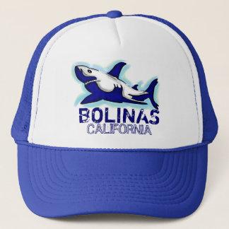 Casquette de thème de requin bleu de Bolinas la