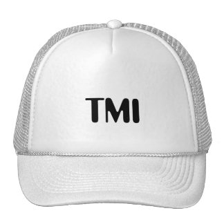 Casquette de TMI