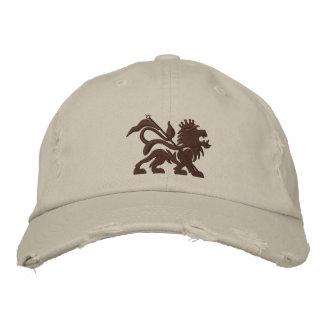 casquette de tuf emboidered par lion de jah
