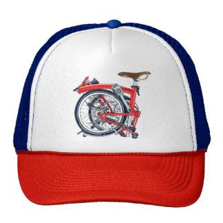 Casquette de vélo de Brompton rétro (chapeau de