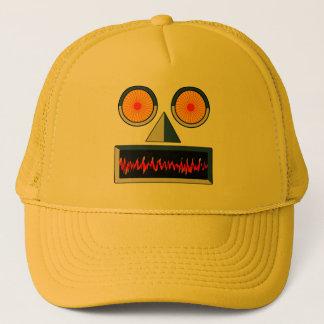 Casquette de visage de robot