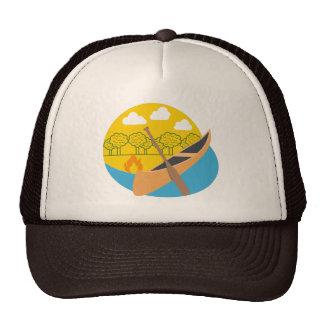 Casquette de voyage de canoë