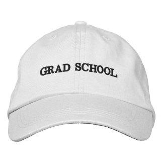 Casquette d'école de diplômé casquette brodée
