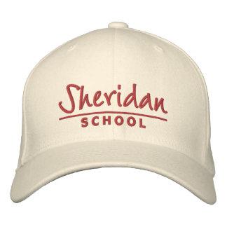 Casquette d'école de Sheridan Casquette Brodée