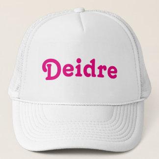 Casquette Deidre