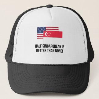 Casquette Demi de Singapourien est meilleur qu'aucun