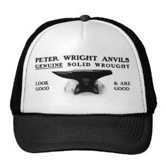 Casquette d'enclume de Peter Wright