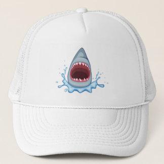 Casquette dents de requin de la bande dessinée