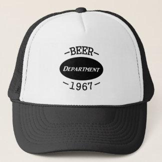 Casquette Département 2 de bière