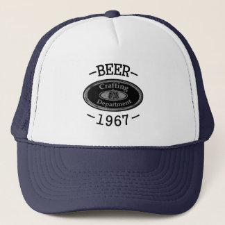 Casquette Département de ouvrage de bière