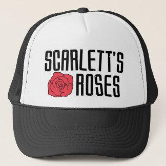 Casquette des roses de Scarlett
