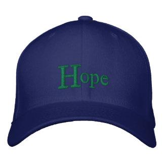 Casquette d'espoir casquette brodée