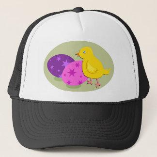 Casquette Dessin de poussin de Pâques